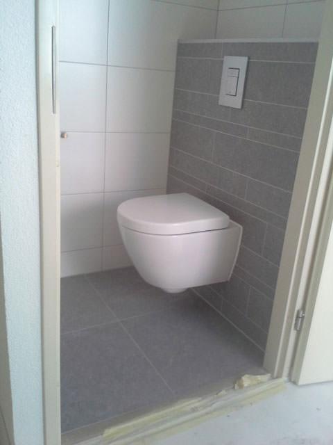 Badkamer toilet of sanitair laten verbouwen bel bart van dijk - Renovatie wc ...